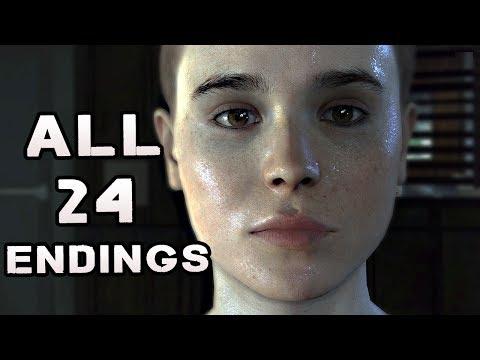 Beyond Two Souls ALL ENDINGS 24 Endings EVERY Possible Ending END