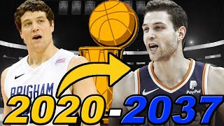 JIMMER FREDETTE ENTIRE CAREER RE-SIMULATION! BEST SHOOTER OF ALL TIME?!? NBA 2K20