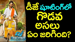 Duvvada shooting | duvvada jagannadham first look | dj first look |dj shooting fight at belur|taja30