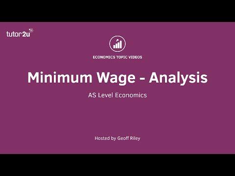 Minimum Wage - Analysis