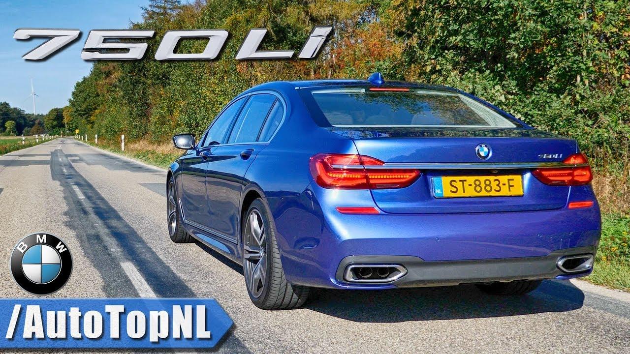 Bmw 750li 44 V8 Biturbo M Sport Exhaust Sound Revs Top Speed