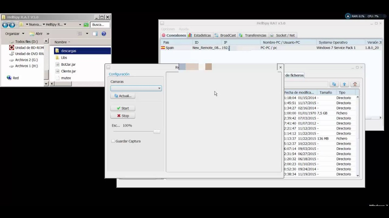 HellSpy R A T & Source Code [ Java + C++ ] by poseidon pos