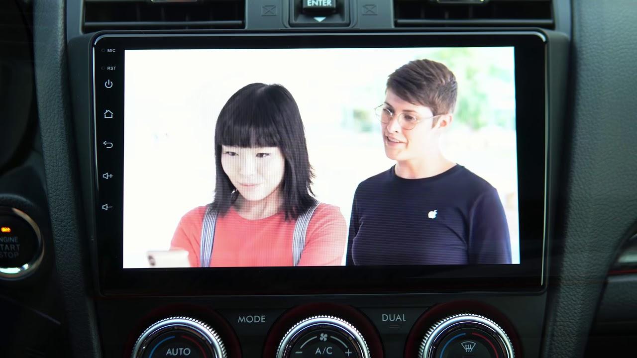 Dasaita Android Head Unit Subaru WRX