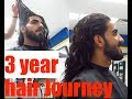 MEN's Long Hair ll  3 Year Journey ll (Cutting My Hair)