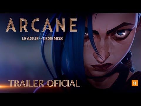 League of Legends: Arcane – Série Animada   Trailer Oficial