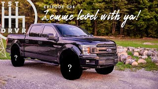 "2018 Ford F-150 – Will 35"" tires fit with just a leveling kit? 