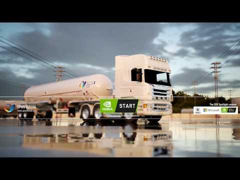 DXR Technology Demo - LP Trailer Driving