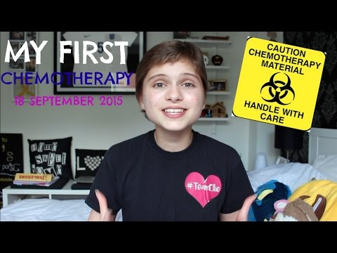 My first chemotherapy | TeamEllie