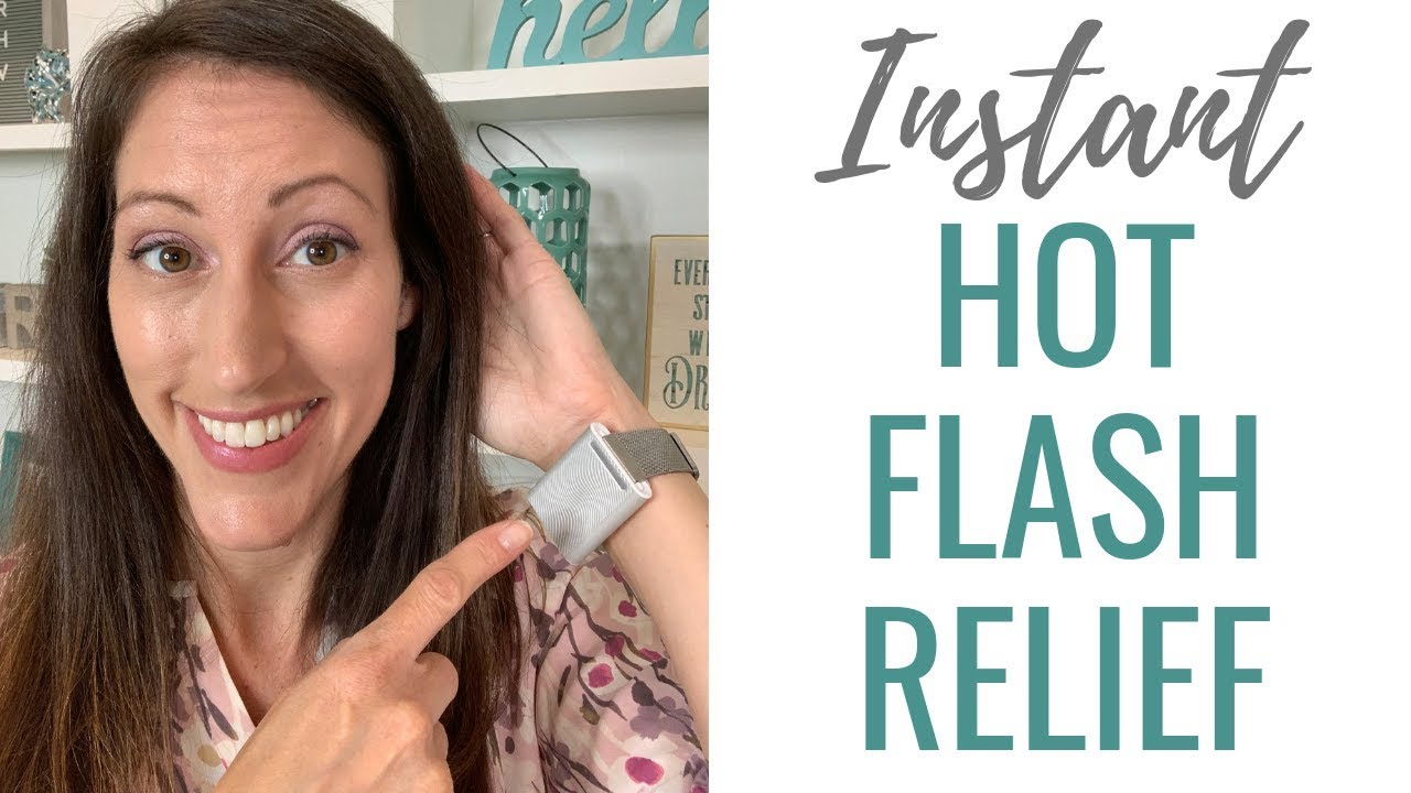 FAST Hot Flash Relief | Stop Hot Flashes & Night Sweat INSTANTLY with Embr  Wave