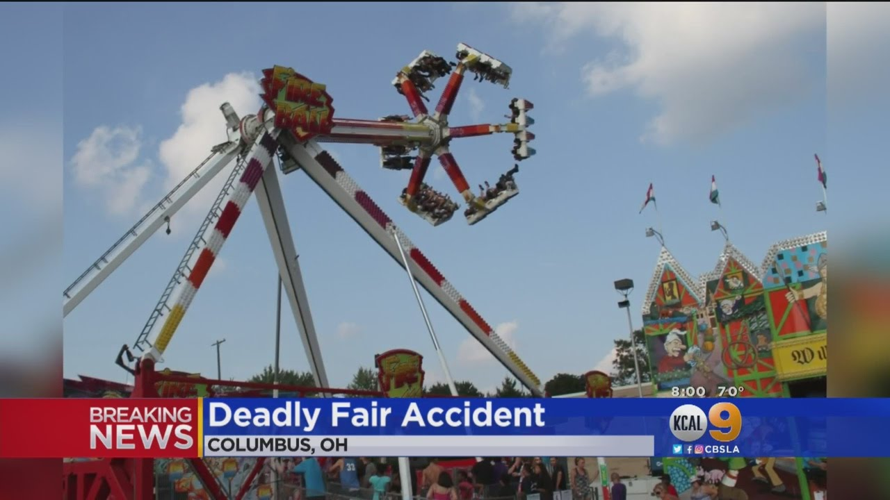 1 Dead, At Least 3 Critical When Amusement Park Ride Malfunctions At Ohio  State Fair