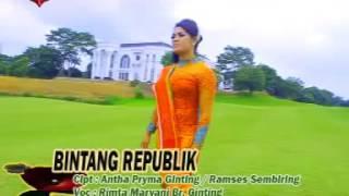 """""""BINTANG REPUBLIK"""" - LAGU KARO - RIMTA MARYANI BR GINTING"""