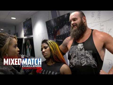 Strowman & Moon are focused on the Royal Rumble