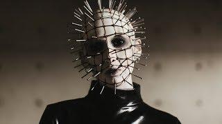 Lady Hellraiser  Pinhead Inspired Halloween Makeup Tutorial