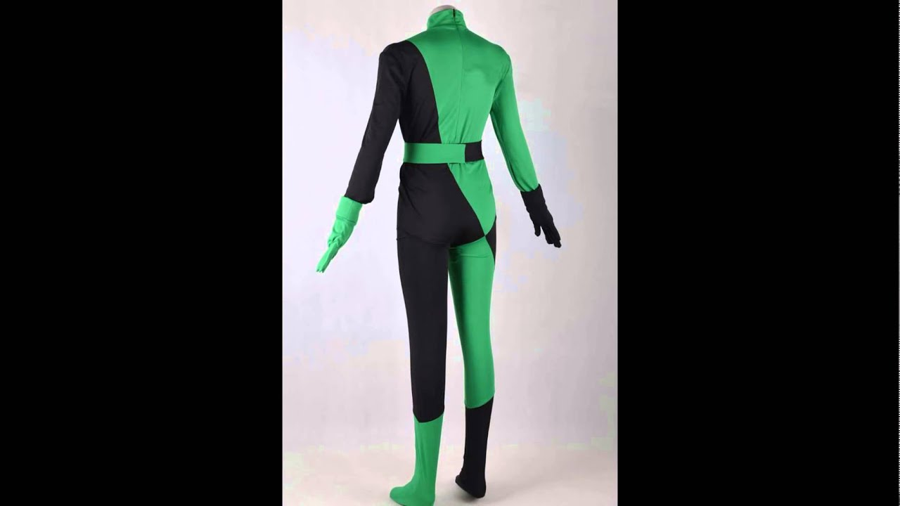 Shego Costume from Kim possible Cosplay - YouTube