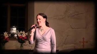 Elina Vettenranta - Särkynyt saviruukku - Lempäälän kirkko - 6.2.2011 :Gospelia pliis