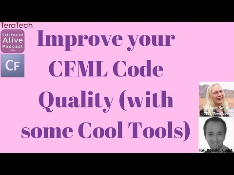 050 Improve your CFML Code Quality (with some Cool Tools) with Kai Koenig