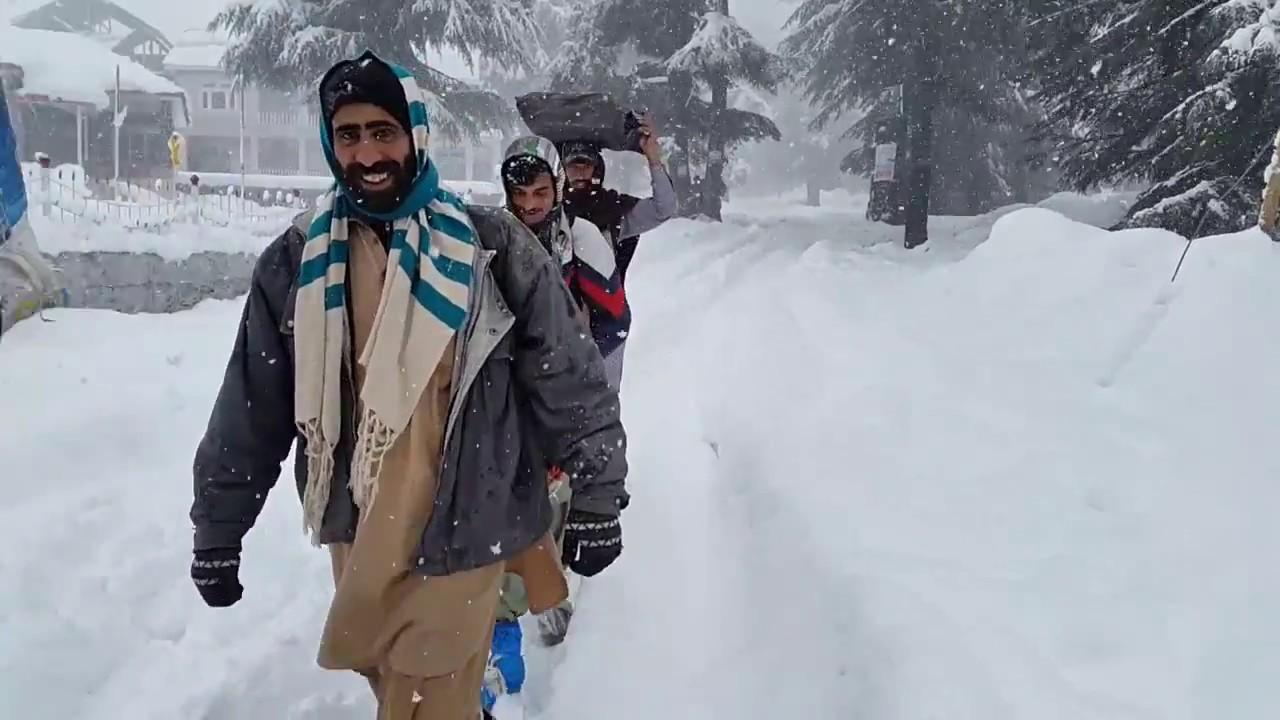 Naran adventure during snow fall