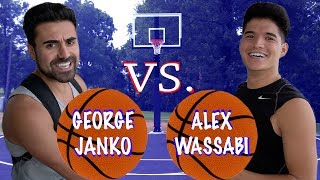 $1,000 BASKETBALL GAME WITH ALEX WASSABI !!!