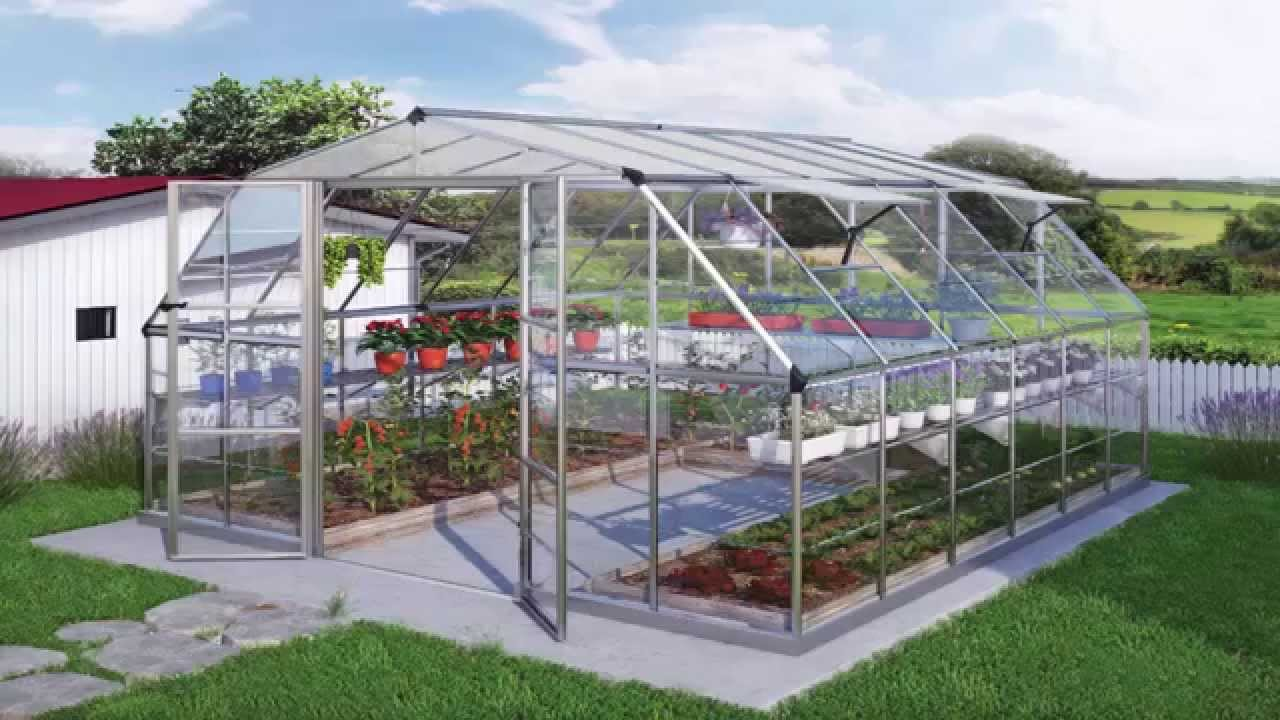 Garden Ideas] *Garden Green House Design Ideas* - YouTube