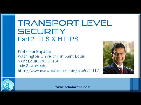 Transport Layer Security: Part 2 - TLS & HTTPS