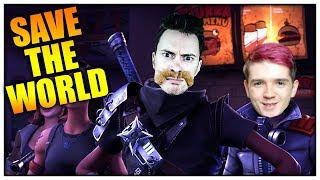 TOHLE ŽE JE FORTNITE?! (Fortnite: Save the World) /w Herdyn