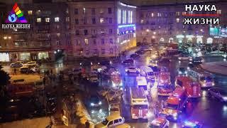 Смотреть видео В магазине Перекресток в Санкт-Петербурге произошел взрыв онлайн