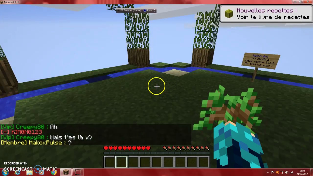 Video Sur Minecraft Serveur Moncube