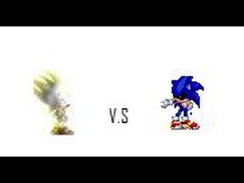 sonic exe vs true hyper sonic presentation