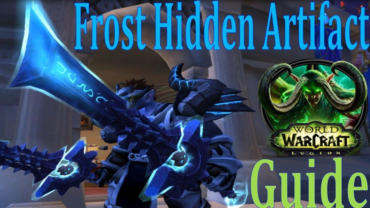 Frost hidden artifact skin