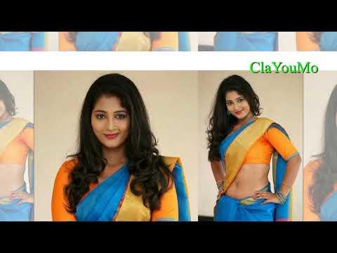 Actress Teja Reddy Hot In Saree Latest Photos _ South Indian Actress