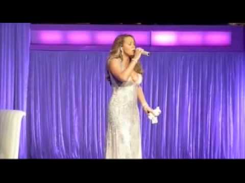 Mariah Carey - Always Be My Baby (Gibson Amphitheatre)HQ live.