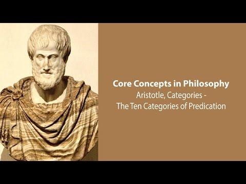 Aristotle on The Ten Categories (Categories, c.4) - Philosophy Core Concepts