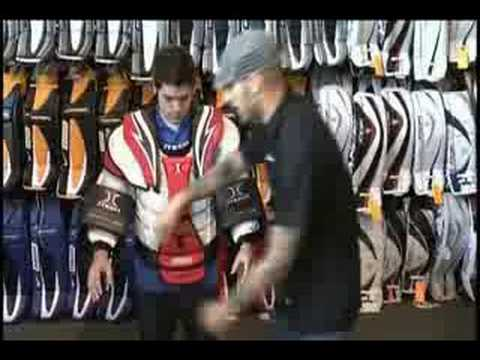 How To Hockey Sizing Hockey Goalie Chest Protectors Youtube