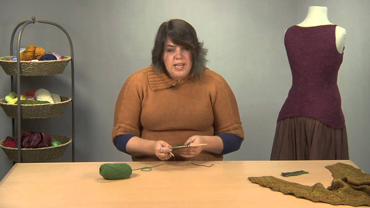 How to Knit Short Rows: The Wrap and Turn Method - YouTube
