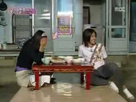 HyunJoong aegyo for HwangBo (Cut) - Eng Sub