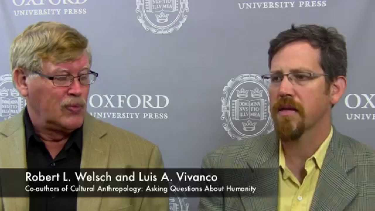 Robert L Welsch And Luis A Vivanco Discuss How To Teach Students