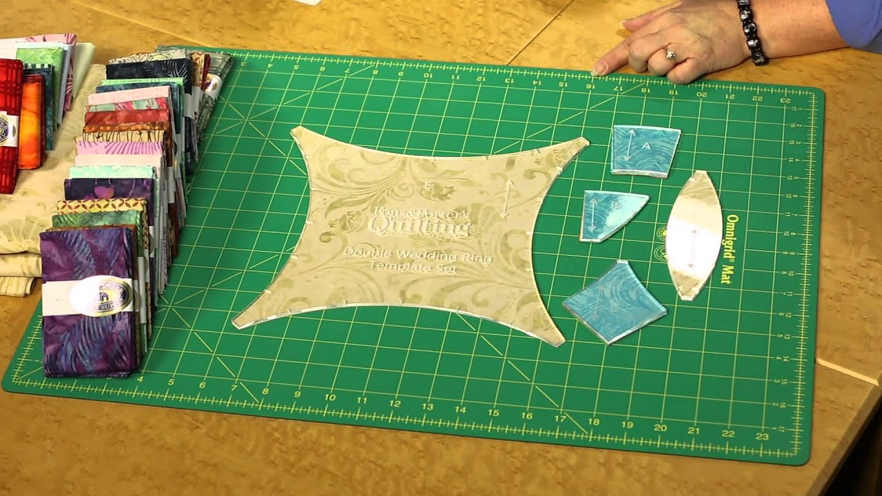 Finally Make That Double Wedding Ring Quilt  YouTube