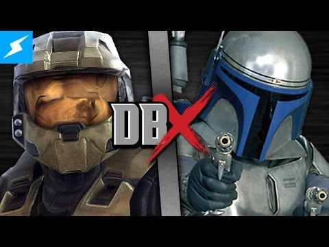 DBX: Master Chief VS Jango Fett (Halo VS Star Wars)