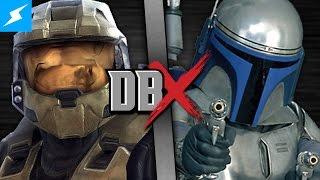 Master Chief VS Jango Fett (Halo VS Star Wars) | DBX
