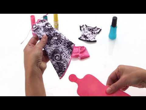 Barbie D.I.Y. Tie Dye Fashion - Pink   Toys R Us Canada