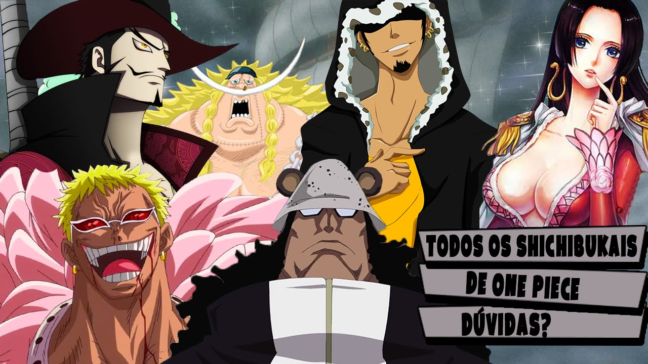 one piece todos os shichibukais player solo youtube