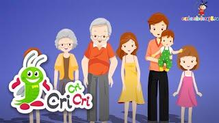 Familia mea - Cantece pentru copii CriCriCri