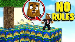 *NEW* NO RULES Minecraft Camp Jerome Lucky Block Skywars - Minecraft Modded Minigame