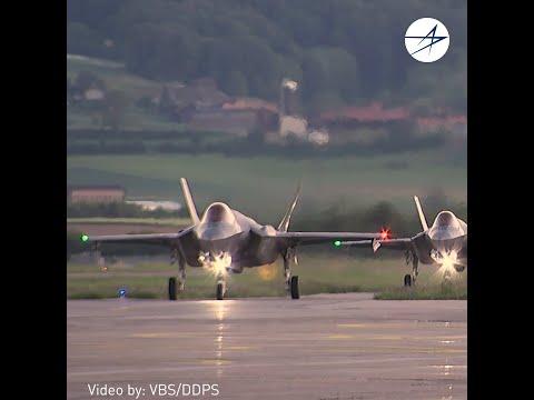 Switzerland Selects the F-35 Lightning II