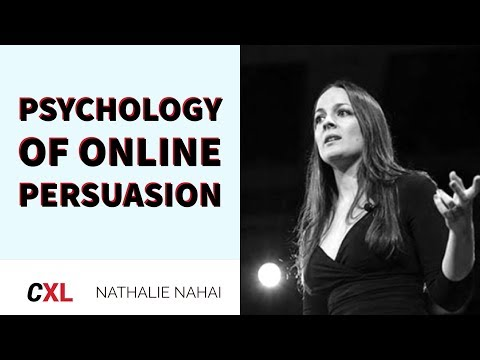 The Psychology of Online Persuasion in Marketing with Nathalie Nahai   CXL Institute Free Webinar