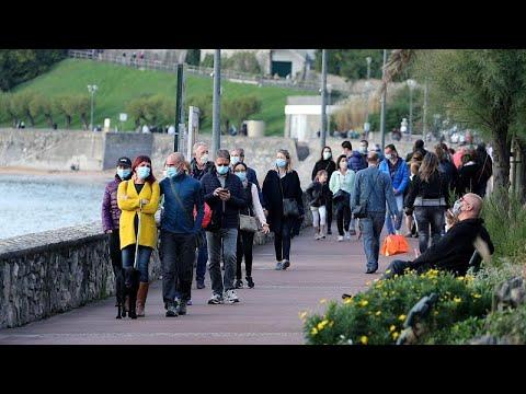 В Ирландии - максимальный уровень эпидемической опансности, в Словени - комендантский час…
