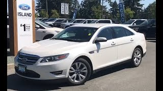 2010 Ford Taurus SEL W/ Leather, Keyless Entry Keypad, Satellite Review| Island Ford