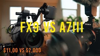 Sony Fx9 vs A7iii: Worth the Upgrade?