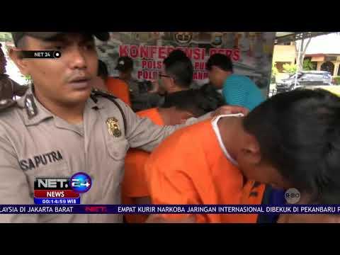 Empat Kurir Narkoba Jaringan Internasional Ditangkap di Pekanbaru   NET24 Mp3