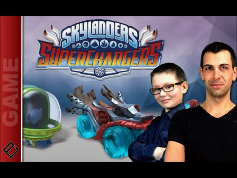 Skylanders SUPERCHARGERS - Gameplay - Family Geek
